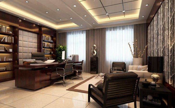 Offices Interiors Design Ceo Luxury