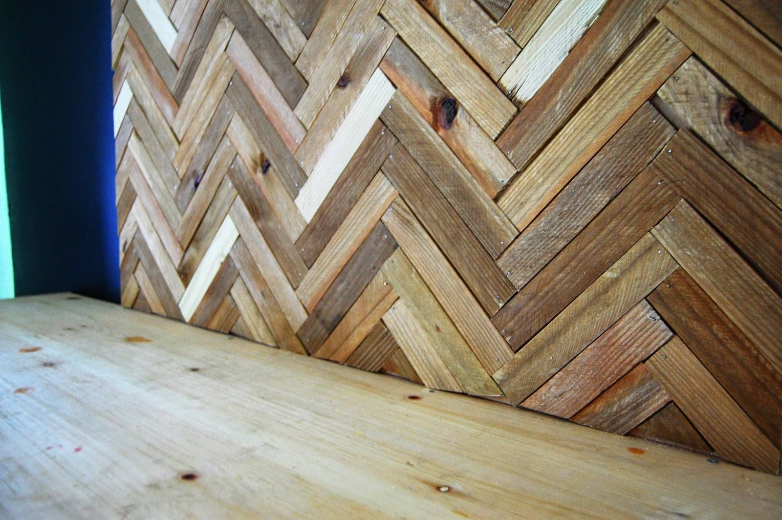 Ohlalaali Diy Herringbone Wood Wall Art