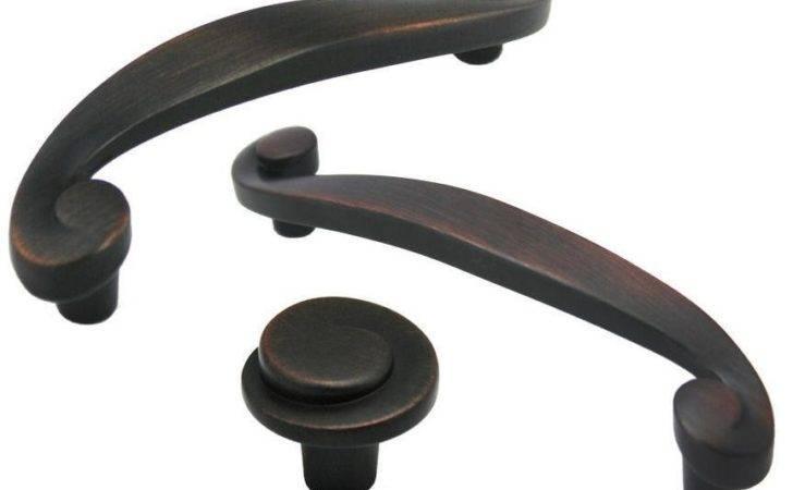 Oil Rubbed Bronze Cabinet Hardware Swirl Knobs Pulls Ebay