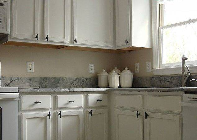 Old Oak Cabinets Painted White Distressed Hometalk