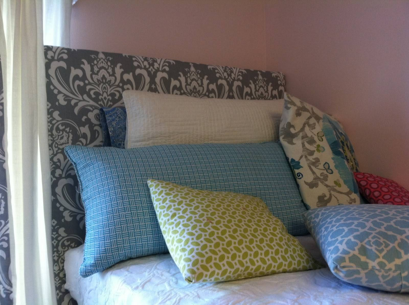 Old Post Road Easy Dorm Room Headboard Tutorial