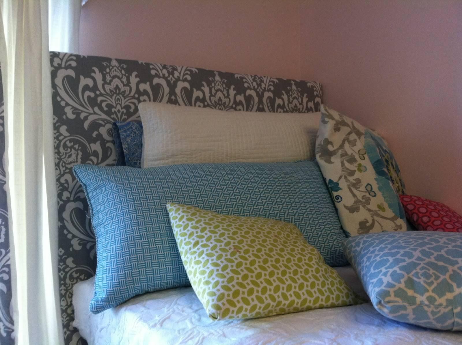 Old Post Road Easy Dorm Room Headboard Tutorial