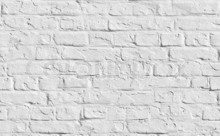Old White Brick Wall Seamless Tileable Texture