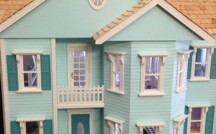 Once Upon Doll Collection Building Dollhouse Part