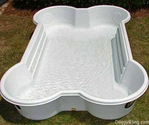 One Dog Bone Sturdy Backyard Pool Supercoolpets