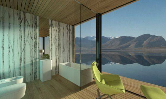 One Dymitr Malcew Houseboat Concept Designs Bathroom
