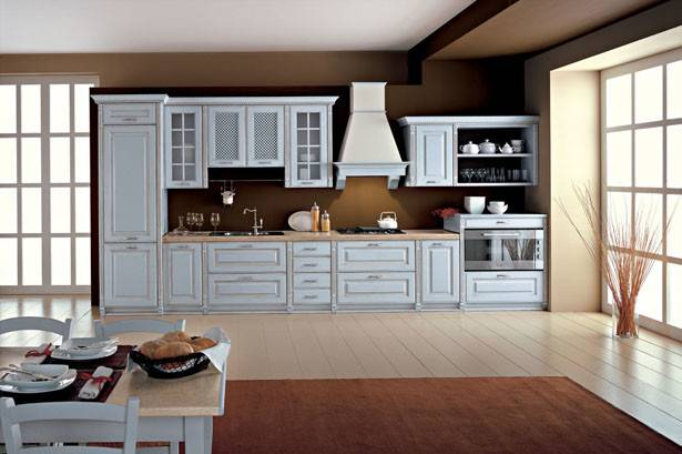 One Wall Timeless Kitchen Design