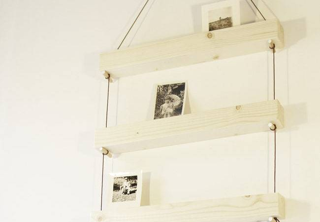 Only Composed Three Hanging Shelves Set Features Thin