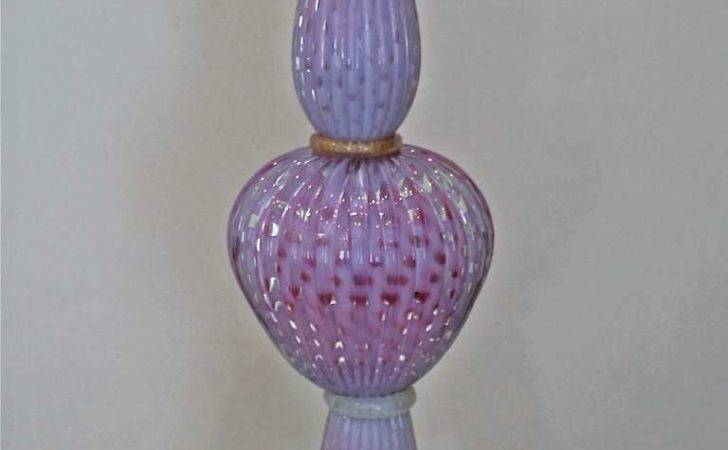 Opalescent Fushia Controlled Bubble Table Lamp Longer Available