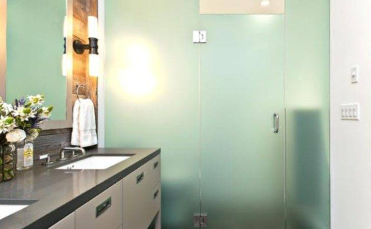 Opaque Glass Shower Hgtv Designer Baths