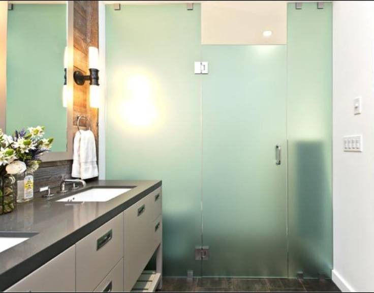 Opaque Glass Shower Hgtv Designer Baths