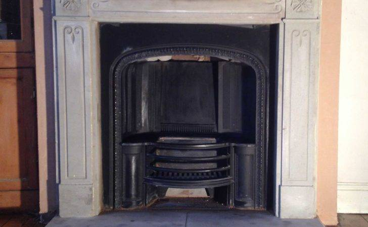 Open Fire Clitheroe Stone Fireplace Installation