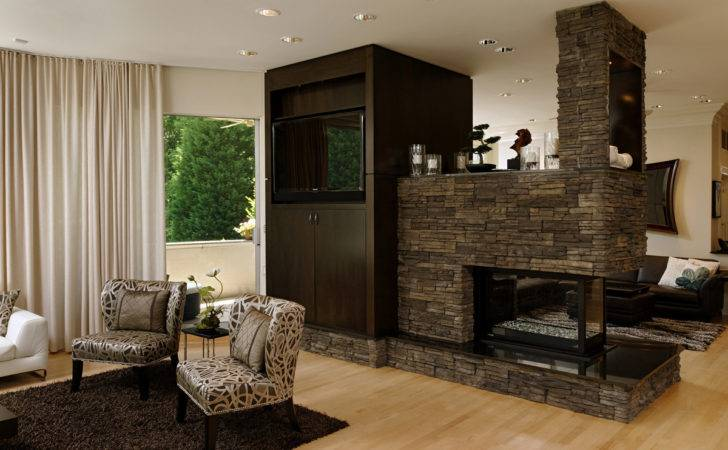 Open Fireplace Enhances Home Oliverburns Takes