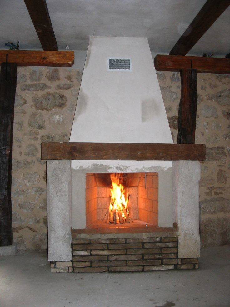 Open Fireplaces Old Stone Bricks Fireplace Carina Hand