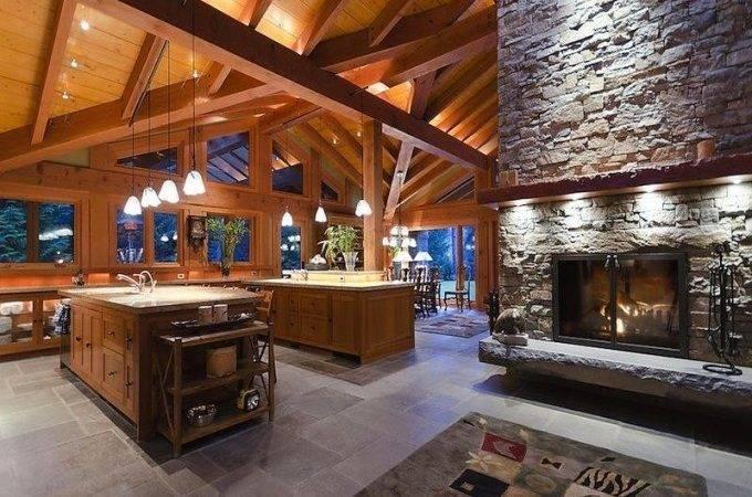 Open Floor Plans Kitchen House