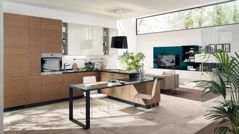 Open Kitchen Living Room Space Interior Design Ideas