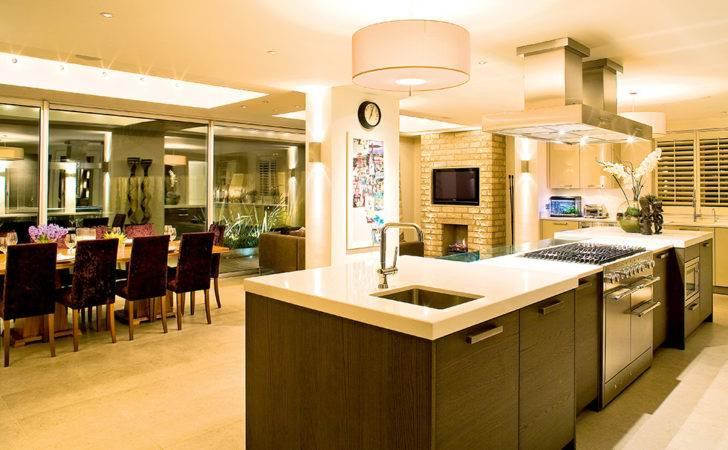 Open Plan Contemporary Kitchen Diner