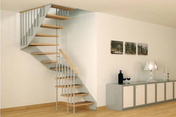 Open Staircases Small Spaces Space Staircase Metal