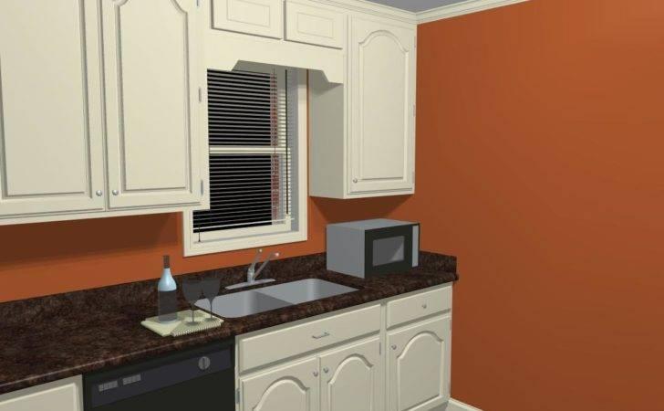 Orange Kitchen Wall Ideas