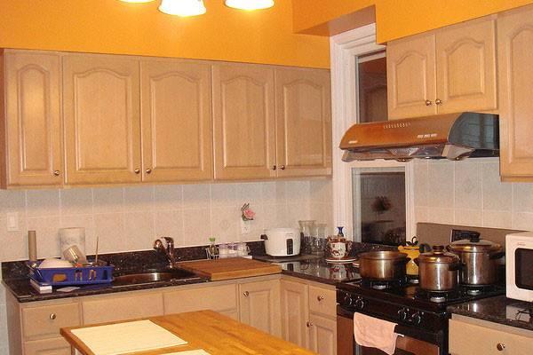 Orange Kitchen Walls Ideas Wall Color