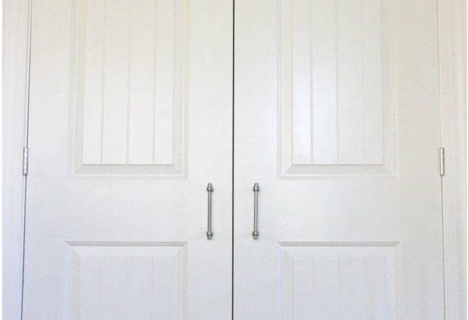 Organized Pantry Sliding Closet Doors Organization