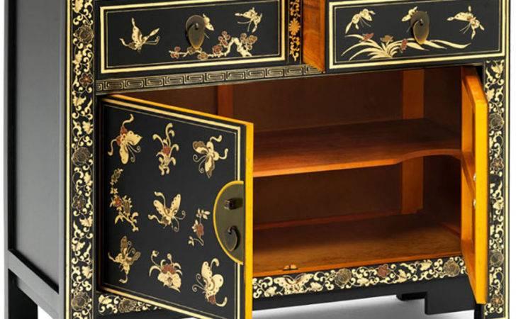 Oriental Storage Wood Tall Unit Chinese Furniture
