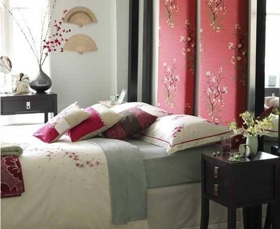 Oriental Style Bedroom Furniture Decorating