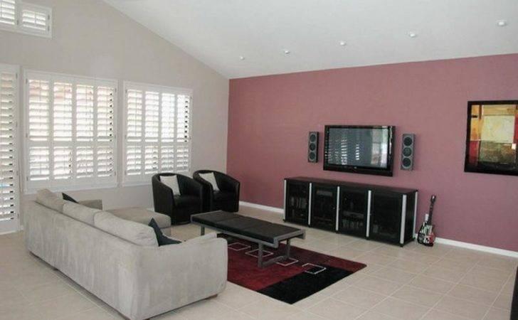 Original Accent Wall Colors Living Room Decorating Ideas