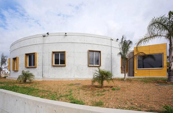 Original Modern Circular Villa Cyprus Loukas Residence Freshome