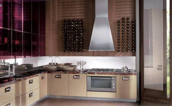 Originality Italian Kitchen Brown Interior Design Architecture