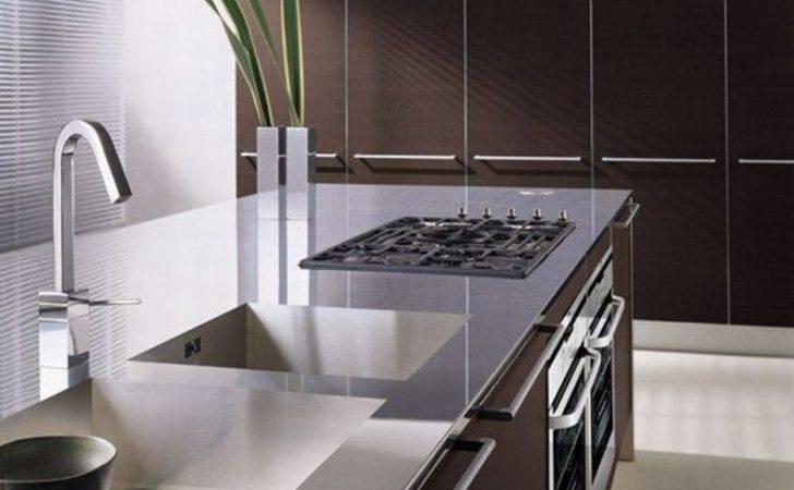 Originality Italian Kitchen Modern Brown Interior Design