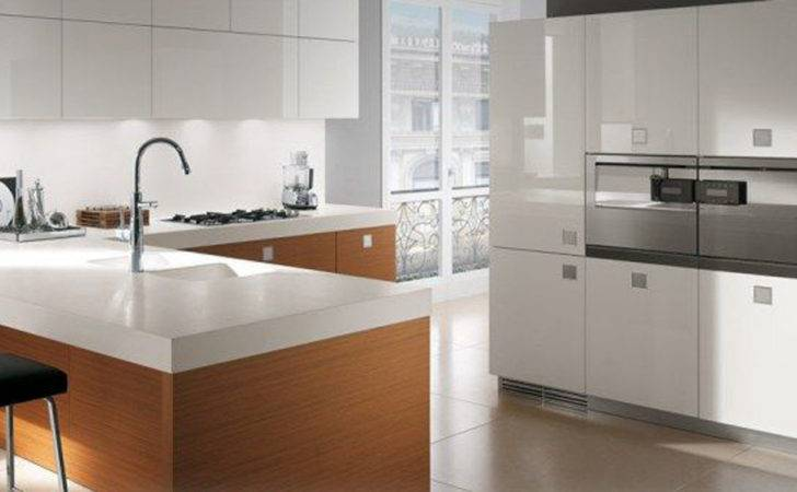 Originality Italian Kitchen White Beige Interior Design
