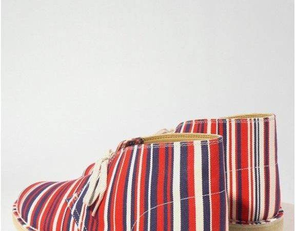 Originals Clarks Southsea Deckchairs Desert Boot Red