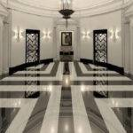 Ornate Impressions Marble Floor Design Detailed