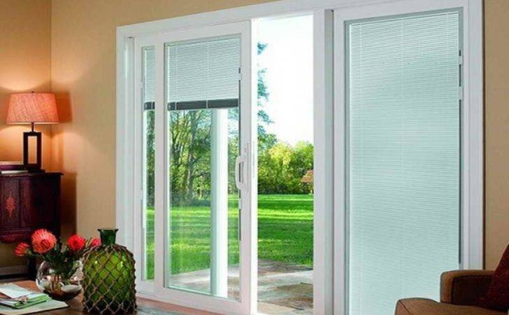 Other Window Treatment Ideas Sliding Glass Doors Kitchen Sloped