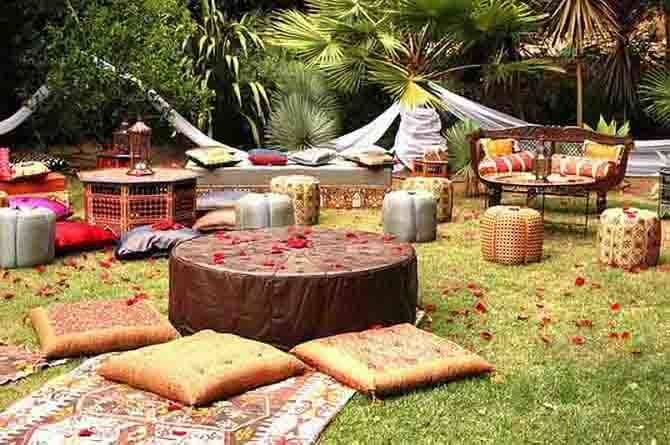 Ottomans Floor Cushions Party Ideas Middle Eastern Style