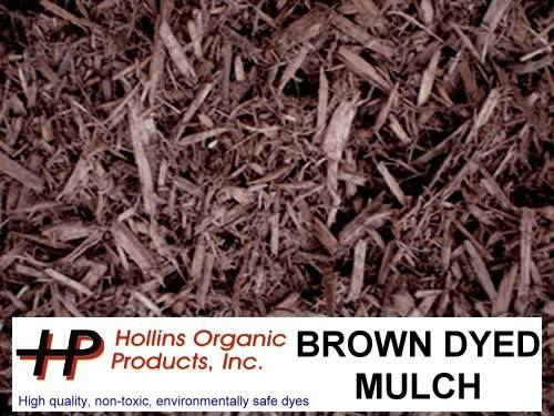 Our Colored Mulches Offer Alternative Your Gardening Needs