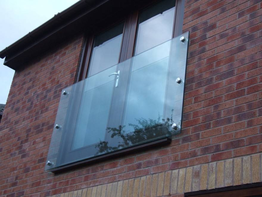 Our Glass Juliette Balconies Simple Modern Frameless Style