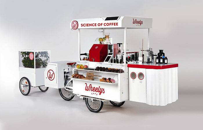 Our Models Wheelys Caf Coffee Bike Cart