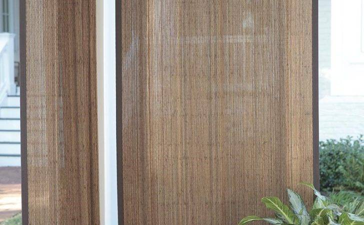Outdoor Bamboo Curtain Panel Collection Accessories