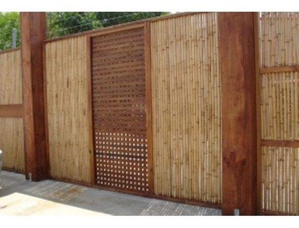 Outdoor Bamboo Screening Cladding Fencing Panels
