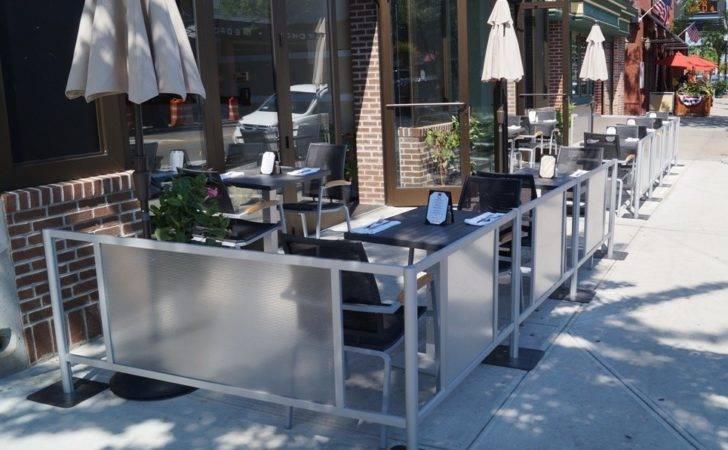 Outdoor Cafe Barriers Restaurant Fencing