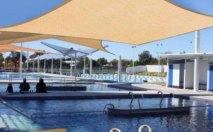 Outdoor Canopy Patio Pool Lawn Sun Shade Sail Top Rectange Cover