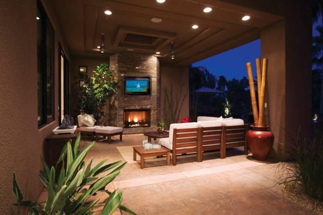Outdoor Enclosure Your Entertainment Area Rustic Patio