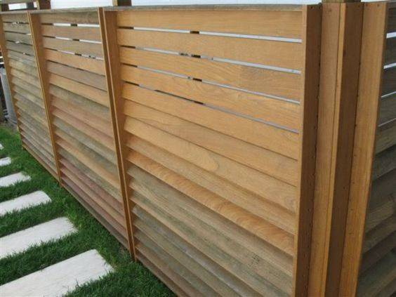 Outdoor Fencing Front Fence Fenced Yard Panels Forward
