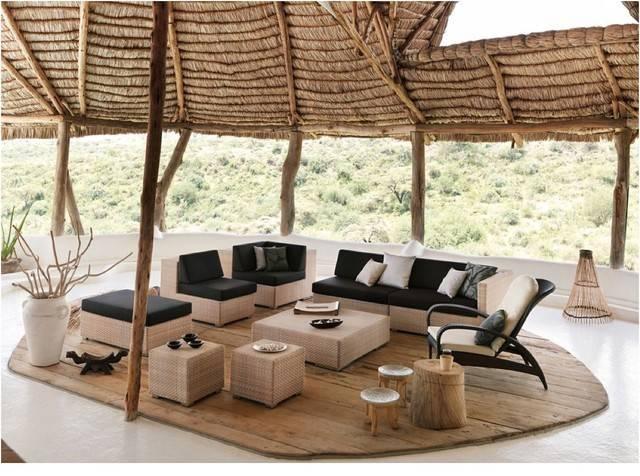 Outdoor Furniture Dedon Modern Patio Raleigh Rodolfo