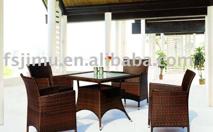 Outdoor Furniture High End Rattan Leisure Table