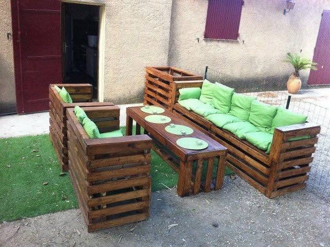 Outdoor Furniture Palettes Home Pinterest