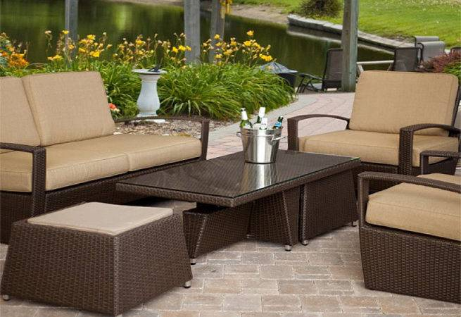 Outdoor Furniture Set Element High End Patio