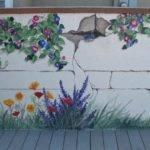 Outdoor Garden Wall Murals Ideas Photography
